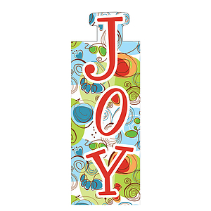 """Joy"" Magnetic Bookmark"