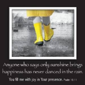 Yellow Rain Boots - Mag Picture Frame