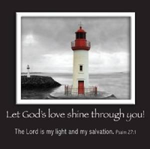 Lighthouse - Mag Picture Frame