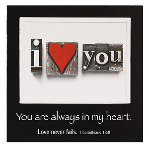 I Love You - Mag Picture Frame