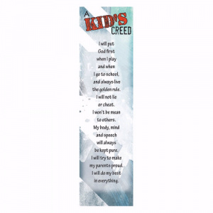 The Kid's Creed Bookmark - Pack of 10