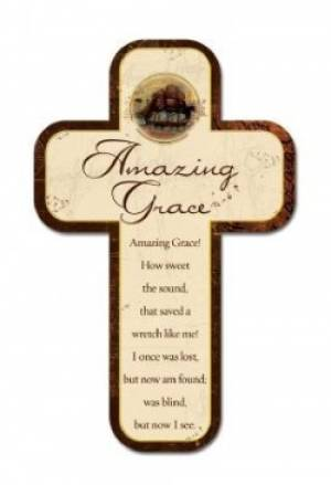 Amazing Grace - Cross Magnet