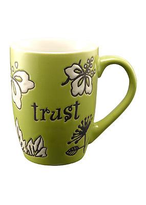 Trust Green Mug