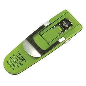 Green - Psalm 119:105 Hydraulic Pop-up Booklight