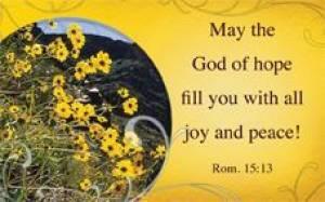 """""""God of Hope"""" (Yellow) Pass-Around Cards"""