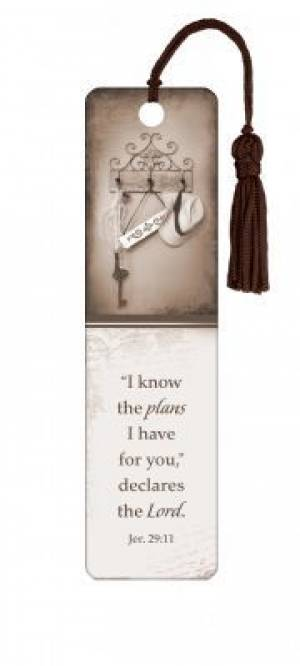 """I Know the Plans"" Tassle Bookmark"