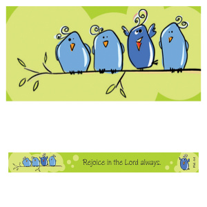 Rejoice in the Lord: Magnetic Strip