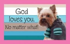 """""""God loves you"""" Pass-Around Cards"""
