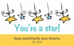 """You're a Star"" Pass-Around Cards"