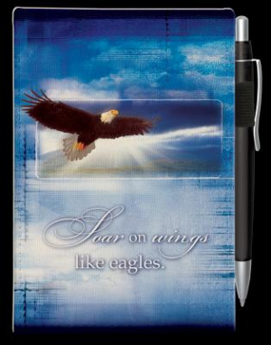 Soar on Wings Notebook and Pen