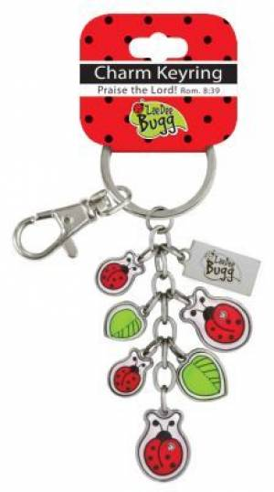 LDB Charm Keyring - Ladybug