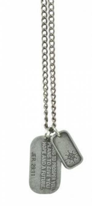 Jer 29:11 - Dog Tag