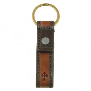 Cross-Faith - Leather Keyring