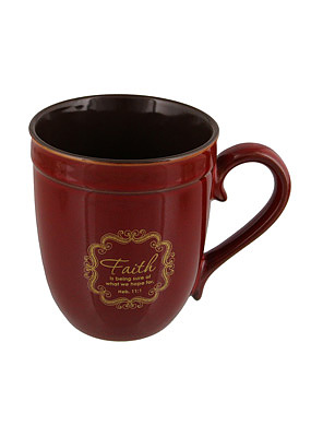 Faith Stoneware Mug