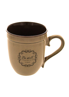 Be Still Stoneware Mug