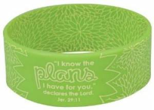 Green Wristband Plans Jer 29:11