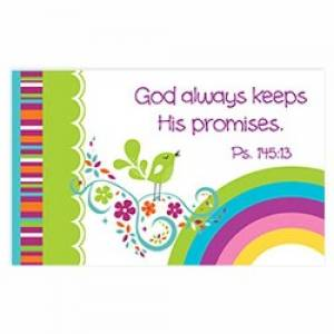 """God keeps His promises"" Pass-Around Cards"