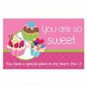 """You are so sweet"" (Pink) Pass-Around Cards"