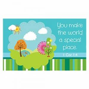 """""""Special place"""" (Teal) Pass-Around Cards"""