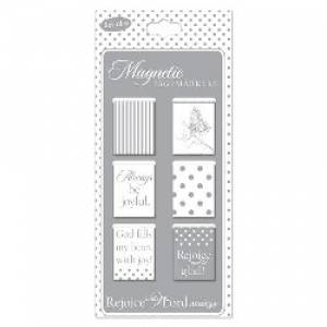 Rejoice - Magnetic Bookmark - Pack of 6
