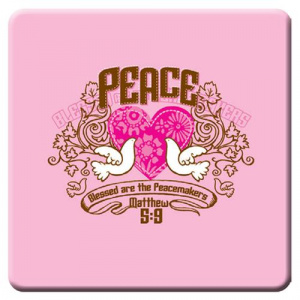 Mt 5:9 Peace Meaningful Magnet