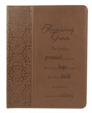 Tablet Case / eReader Cover Brown - Amazing Grace