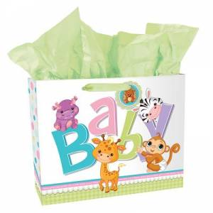 Gift Bag - Landscape - Baby Animals