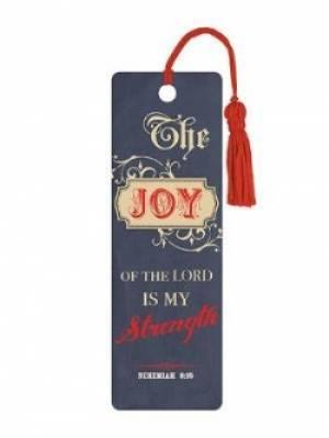 """""""Joy"""" (Blue) PVC Bookmark"""
