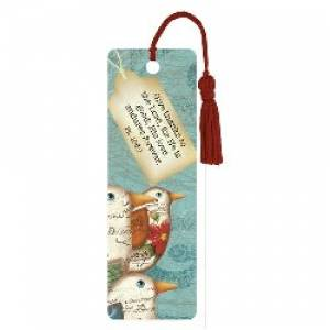"""Give Thanks"" PVC Bookmark"