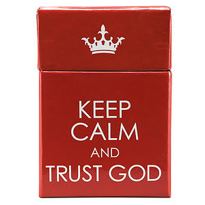 Box of Blessings - Keep Calm & Carry On