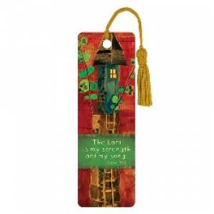 """""""Strength & Song"""" PVC Bookmark"""