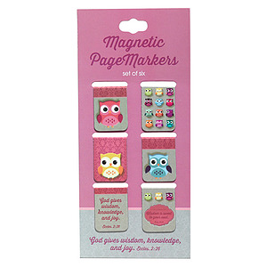 Words of Wisdom Owl Magentic Page Markers