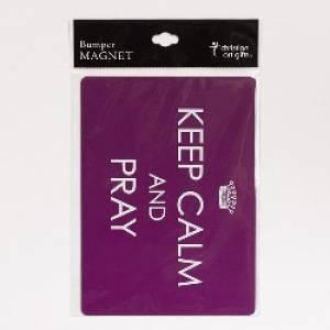 Bumper Magnet Keep Calm and Pray