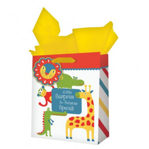 Gift Bag Med Animals-Little Surprise