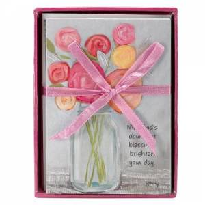 Petals of Praise Rose Boxed Notecards (8)