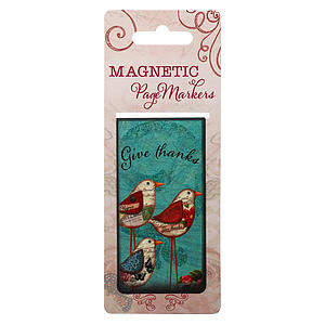 Give Thanks Ps 118:29 Magnetic Pagemarker - Single