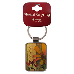 Believe Metal Keyring - 1 Thess 2:20