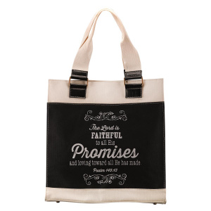 Canvas Tote Promises Ps 145:13
