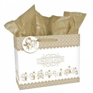 Gift Bag Lg Wedding Congratulations