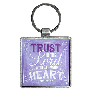 Trust in the Lord Keyring