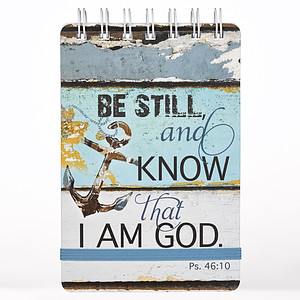 Be Still and Know Notepad
