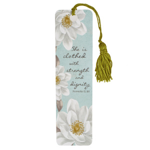 She Is Clothed In Strength And Dignity Single Bookmark