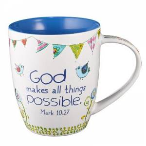 All Things Possible Mark 10:27 Mug