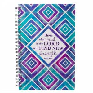 Trust in the Lord Spiral Bound Journal