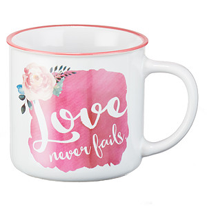 Love Never Fails Mug