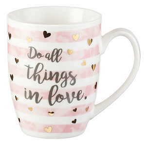 Do All Things in Love Mug