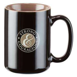 Strong and Courageous Joshua 1:9 Coffee Mug