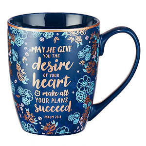 May He Give You the Desires of Your Heart Mug
