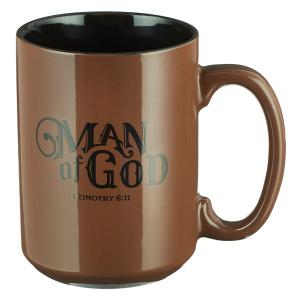 Man of God 1 Timothy 6:11 Coffee Mug