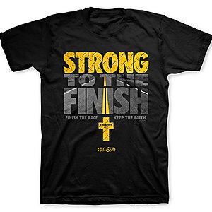 T-Shirt Strong to the Finish Adult Medium